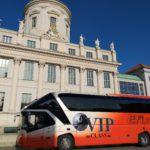 Efinger Kontakt: Bus in der Stadt